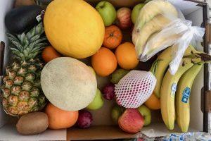 Vihanneksia ja hedelmiä koronakaranteeniin