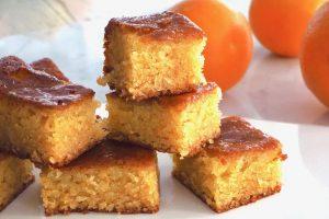 Marokkolainen appelsiinikakku