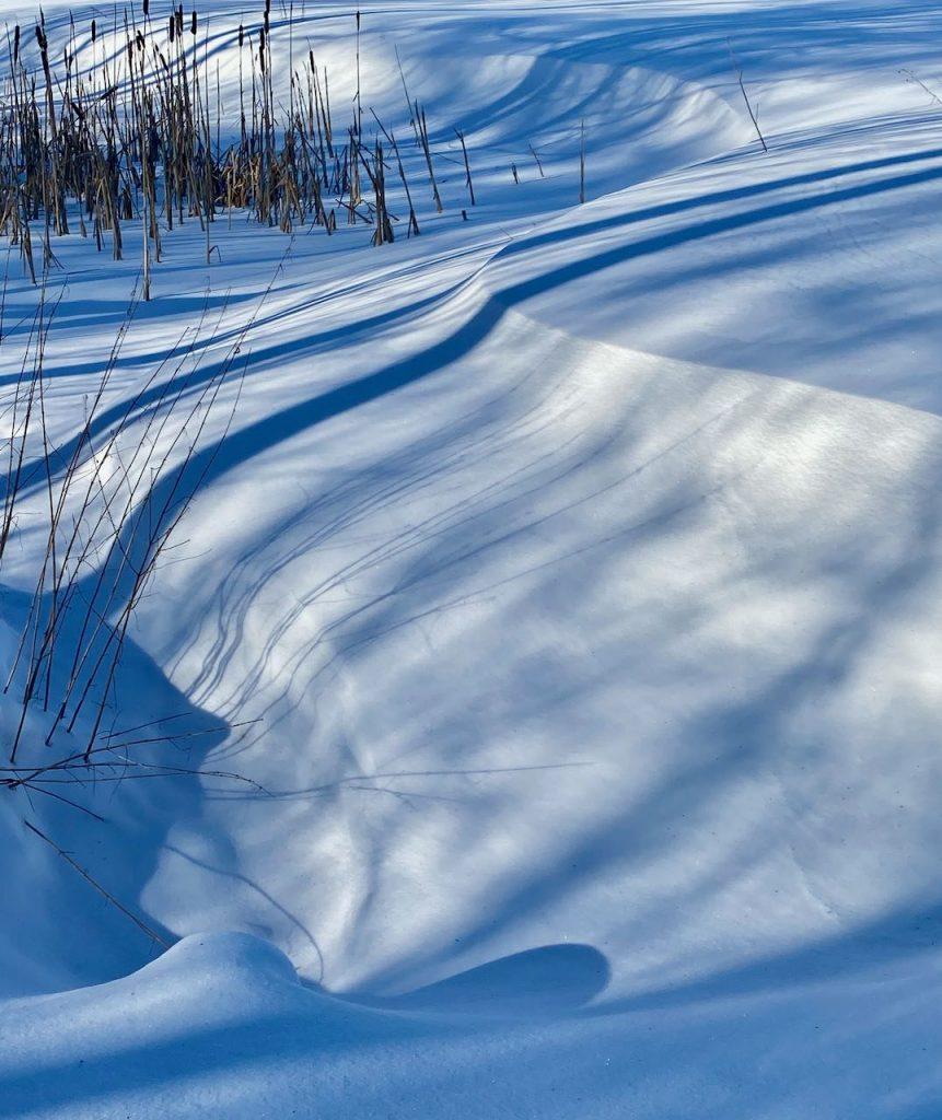 Talvi on kaunis Espoossa vaikka elän pandemiasumussa.