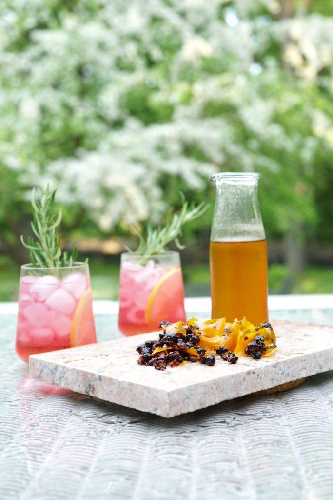 Moctail - alkoholiton gin tonic